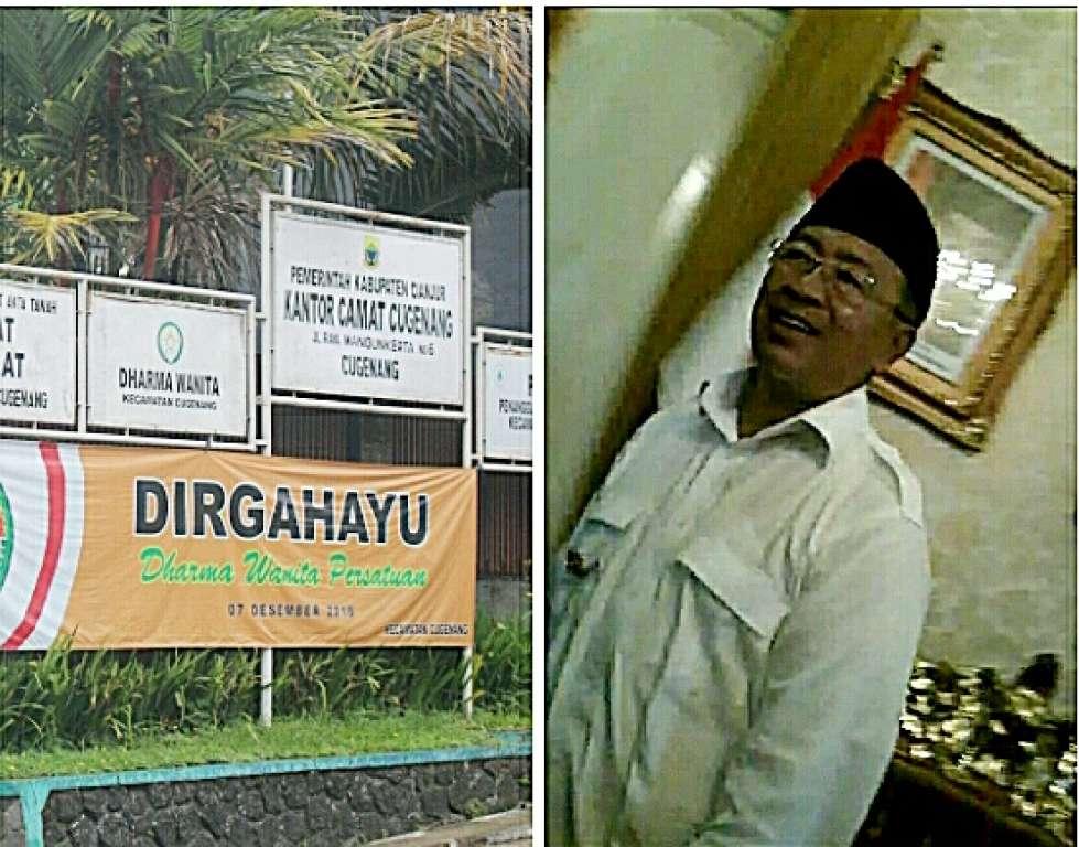 Dugaan Mark Up Lahan Kecamatan Cugenang Diusut APH