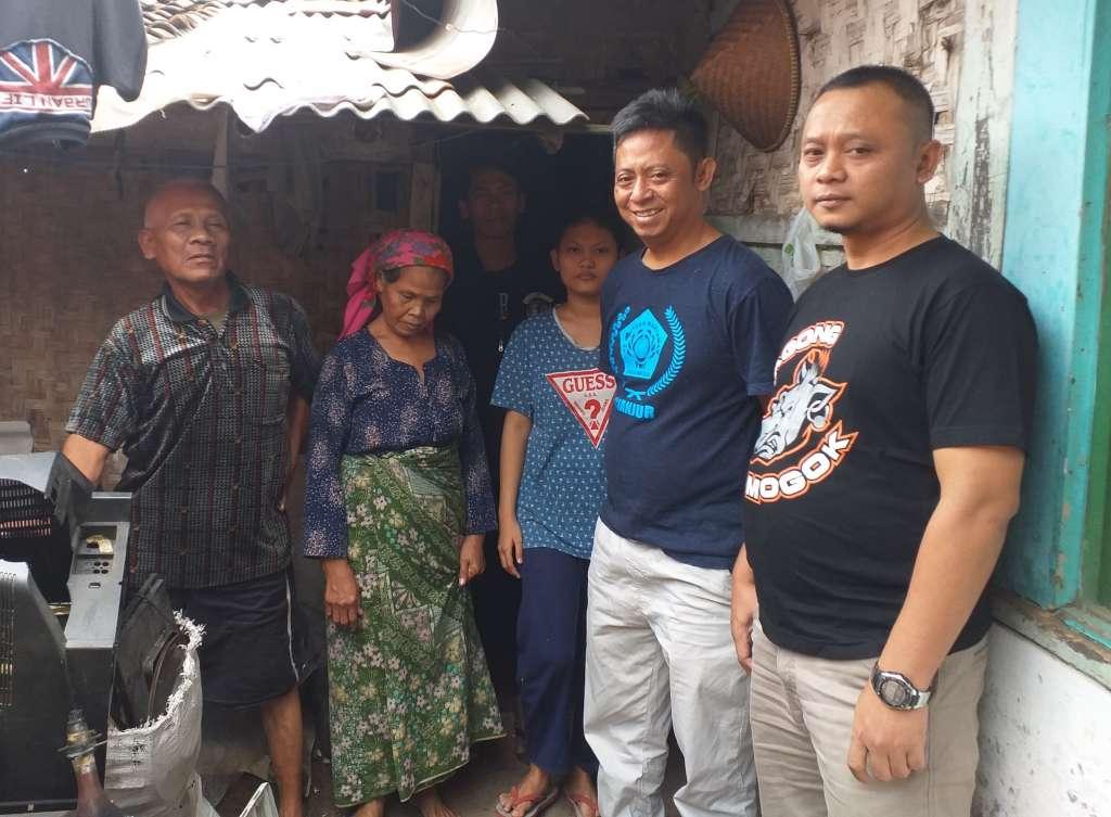 BM Segera Bangun Rumah Kumuh Milik Keluarga Miskin Obar Sobari