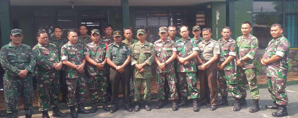 Koramil 0802, Siap Bersinergi Lakukan Pengamanan Pelaksanaan MTQ dan Pilkades