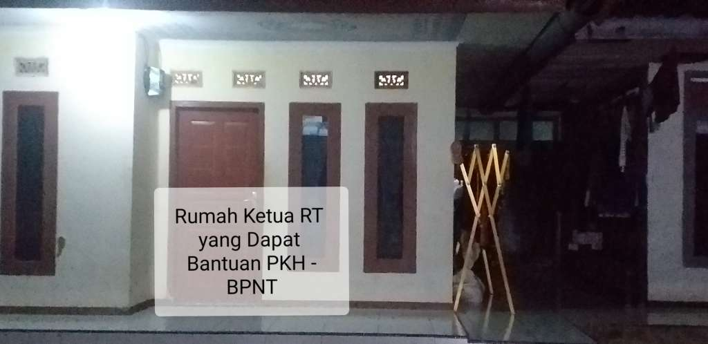 Terkuak Ketua RT/RW Dapat Bantuan BPNT - PKH, Setelah Rumahnya Ditandai Stiker
