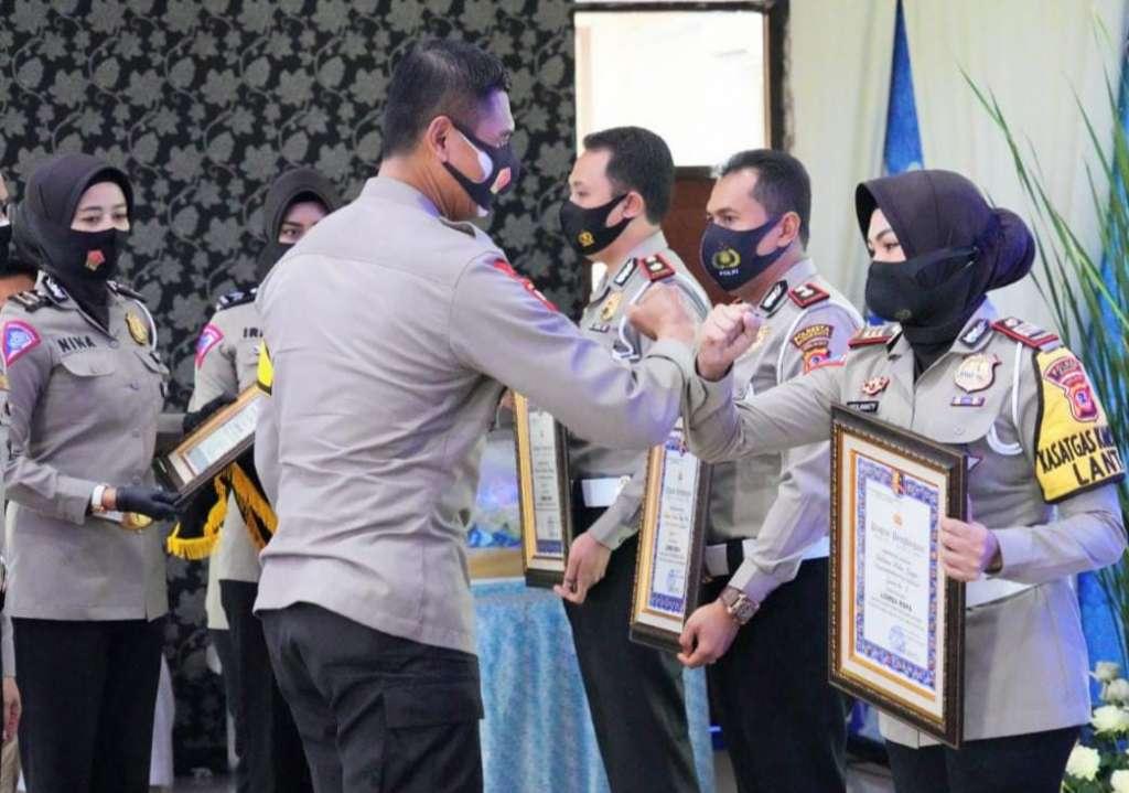 Satlantas Polres Cianjur, Raih Juara 3 Lomba RSPA Tingkat Polda Jabar, Kado Ultah Polantas Ke-65