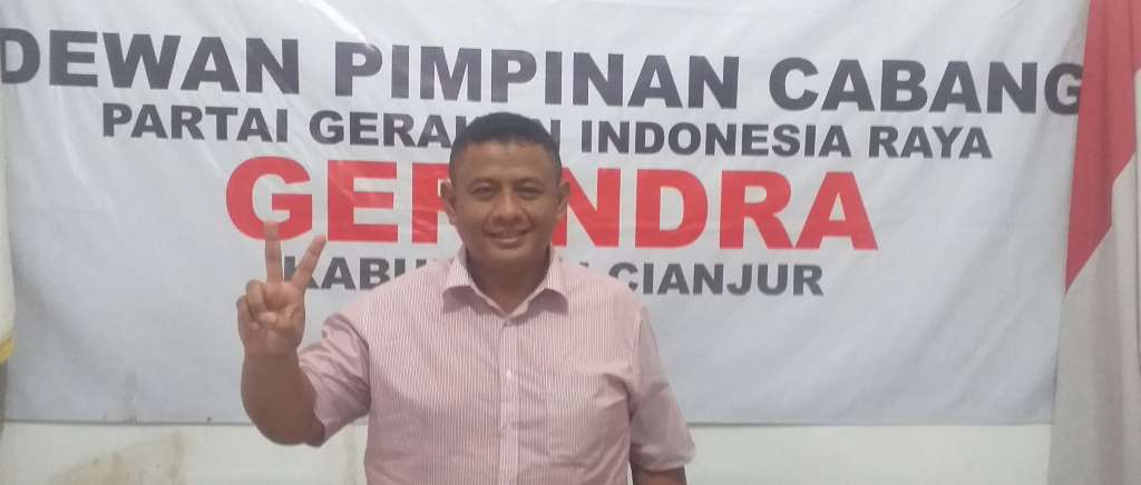 DPD Partai Gerindra Jabar, Harga Mati Pasangan OTW Harus Menang di Pilkada Cianjur