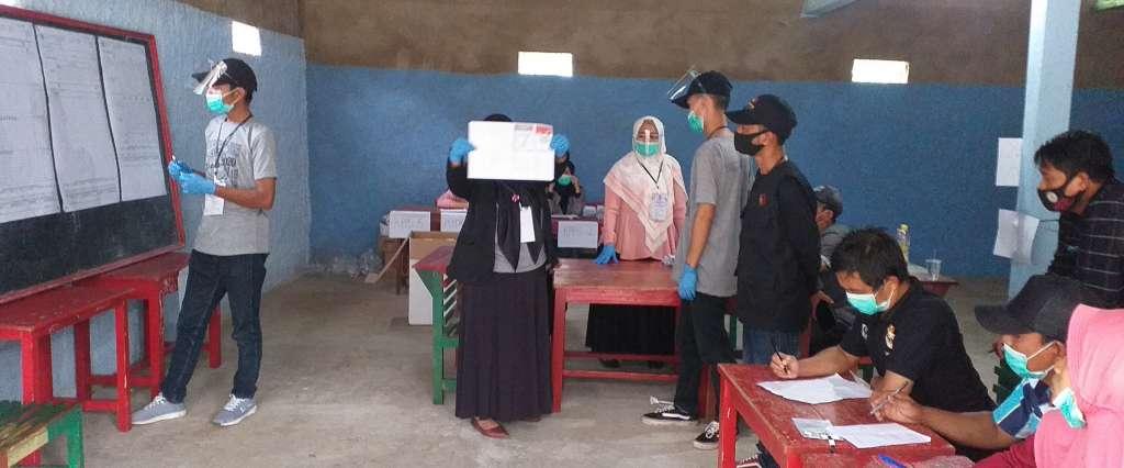 Hasil Pemungutan Suara Ulang di Dua TPS Desa Bunisari, BHSM Unggul