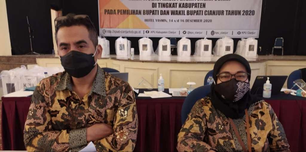 KPU Tetapkan Hasil Penghitungan Suara Pilkada Cianjur 2020