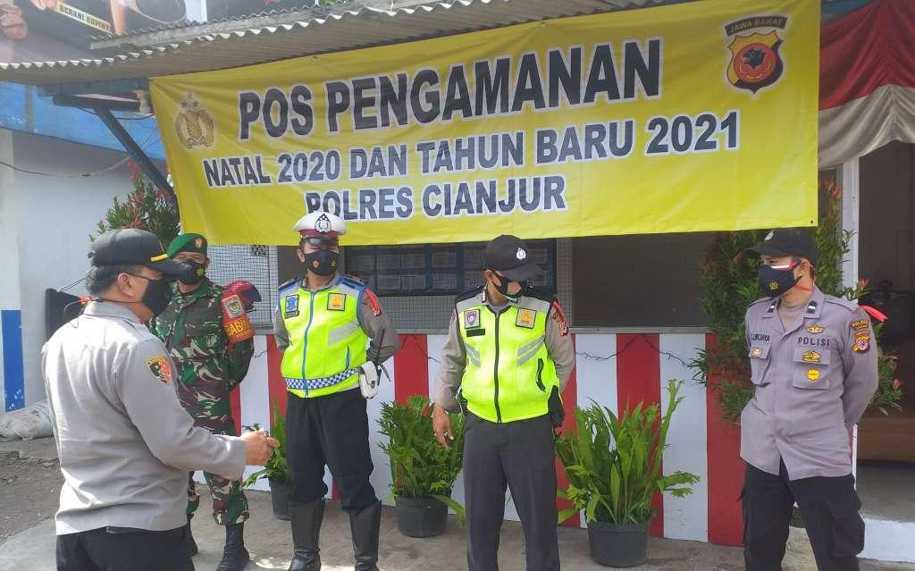Giat Natur 2021, Polsek Warungkondang Dirikan Tiga Pos Pengamanan