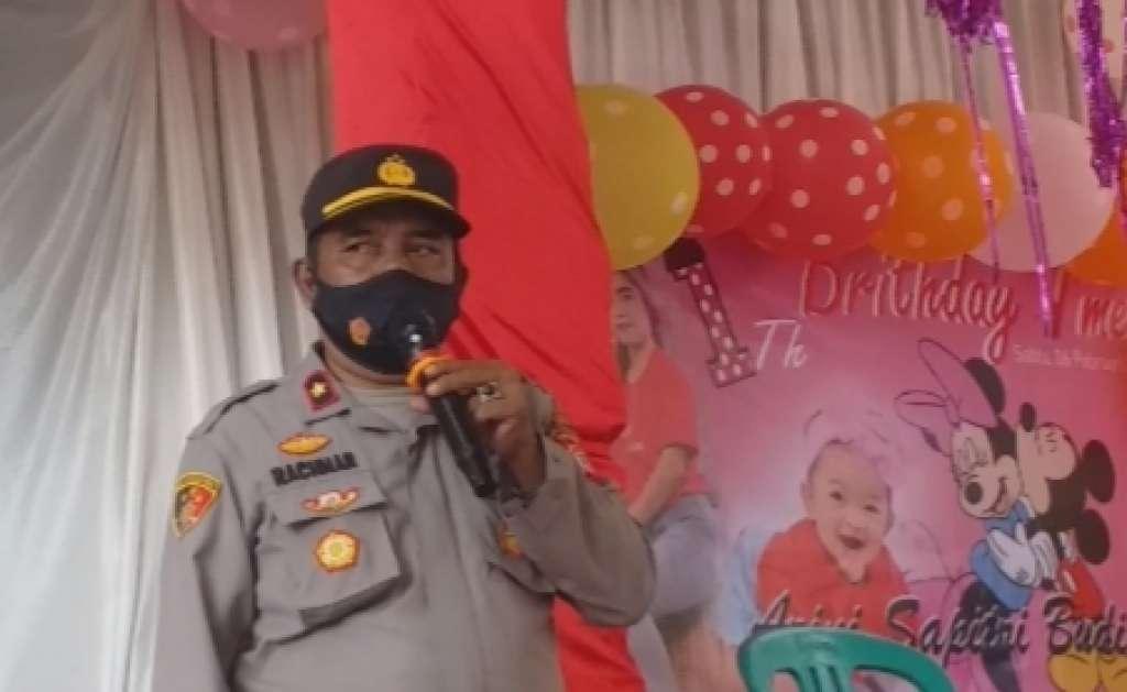 Langgar PPKM, Acara Hiburan Organ Tunggal di Bubarkan Polsek Warungkondang