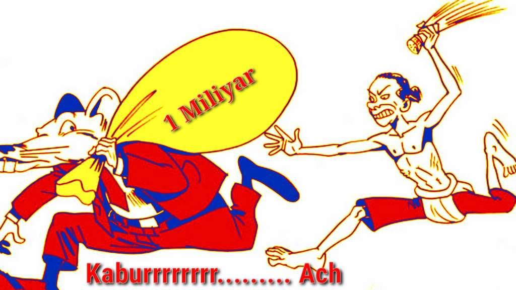 Diduga Korupsi DD 1 Miliyar, Oknum Kades Cigunungherang Melarikan Diri