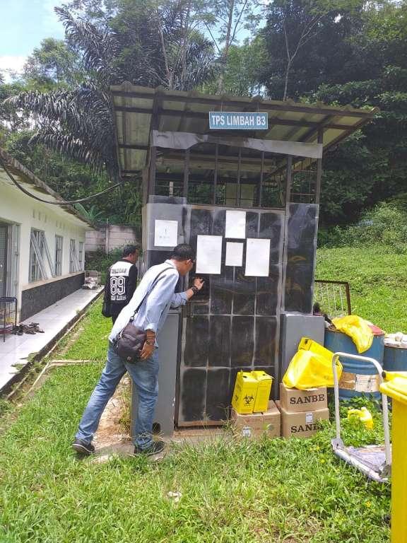 Diduga Tak Mengantongi Izin, TPS Limbah B3 RSUD Pagelaran di Soal