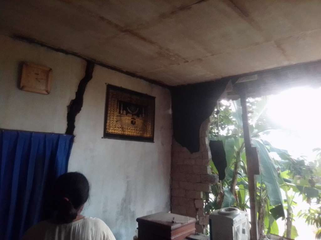 Satu Unit Rumah Warga Ambruk di Cianjur, Terdampak Gempa Sumur Banten