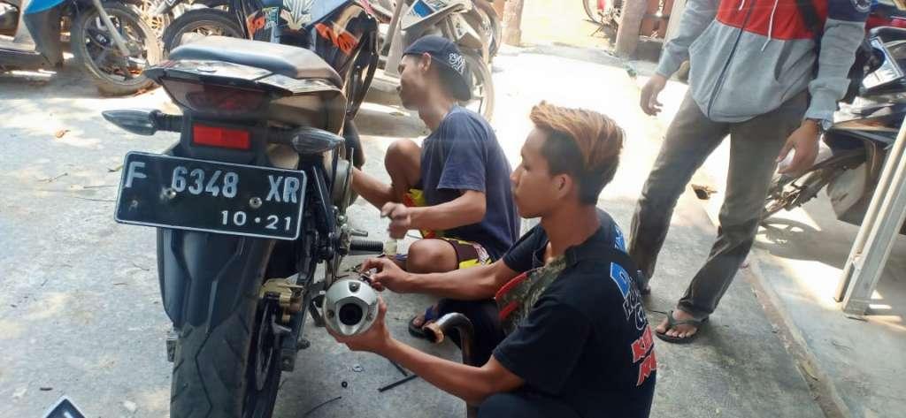 106 Pelanggaran Terjaring dalam Giat Dakgar Satlantas Polres Cianjur