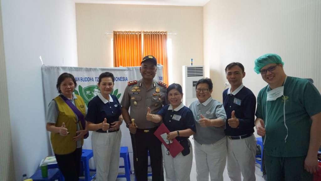 Polda Jabar Kerjasama, Yayasan Budha Tzu Chi Indonesia Gelar Boksos Pengobatan Gratis