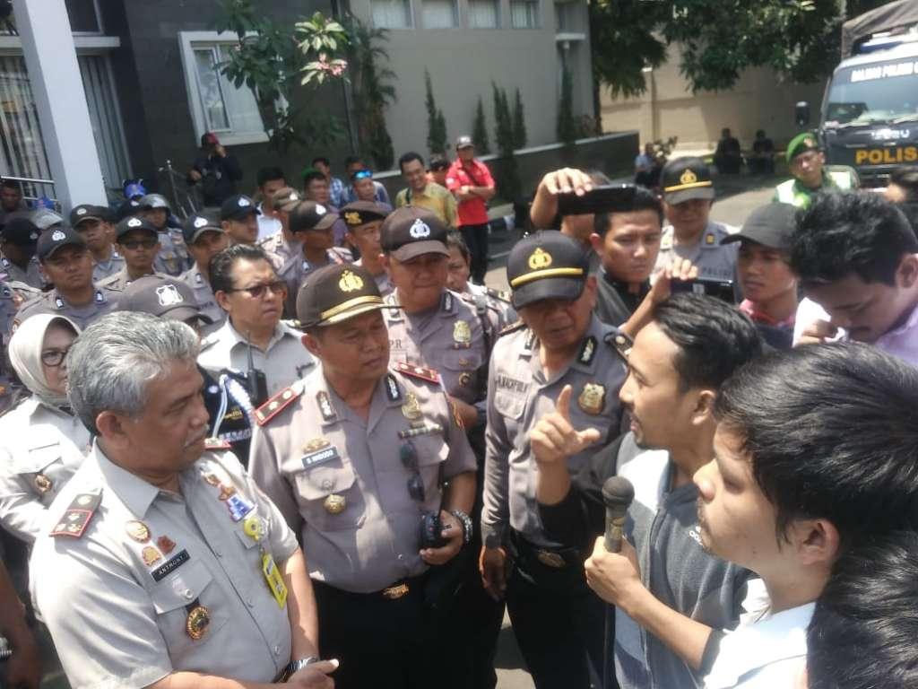 Pungli PTSL Sistematis dan Terorganisir, ATR/BPN Cianjur di Demo Masa