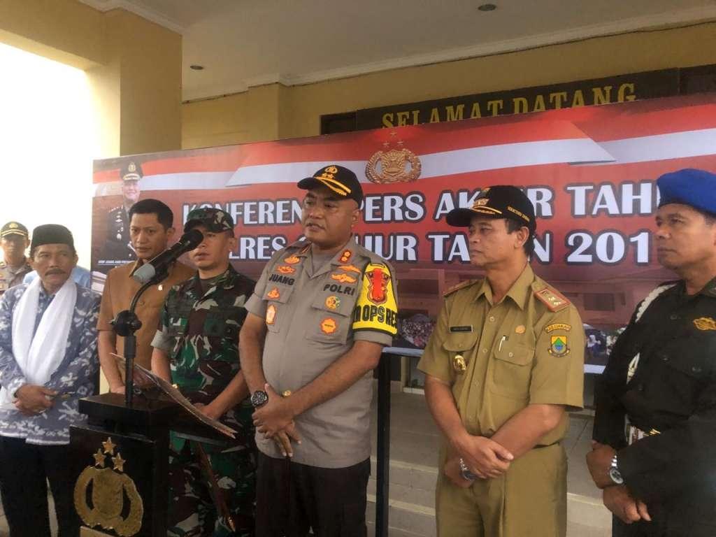 Tahun 2019, Polres Cianjur Berhasil Selesaikan Kasus Hingga 82%