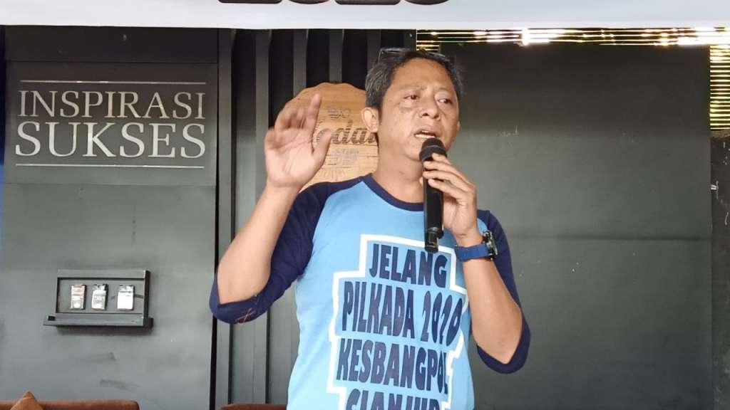 Ketua PWI Cianjur : Ngaku Jurnalis Harus Bisa Menulis