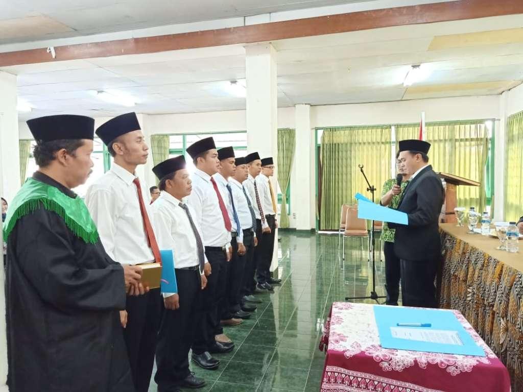 Ketua Panwaslu Pacet, Resmi Melantik 7 Anggota PKD Terpilih