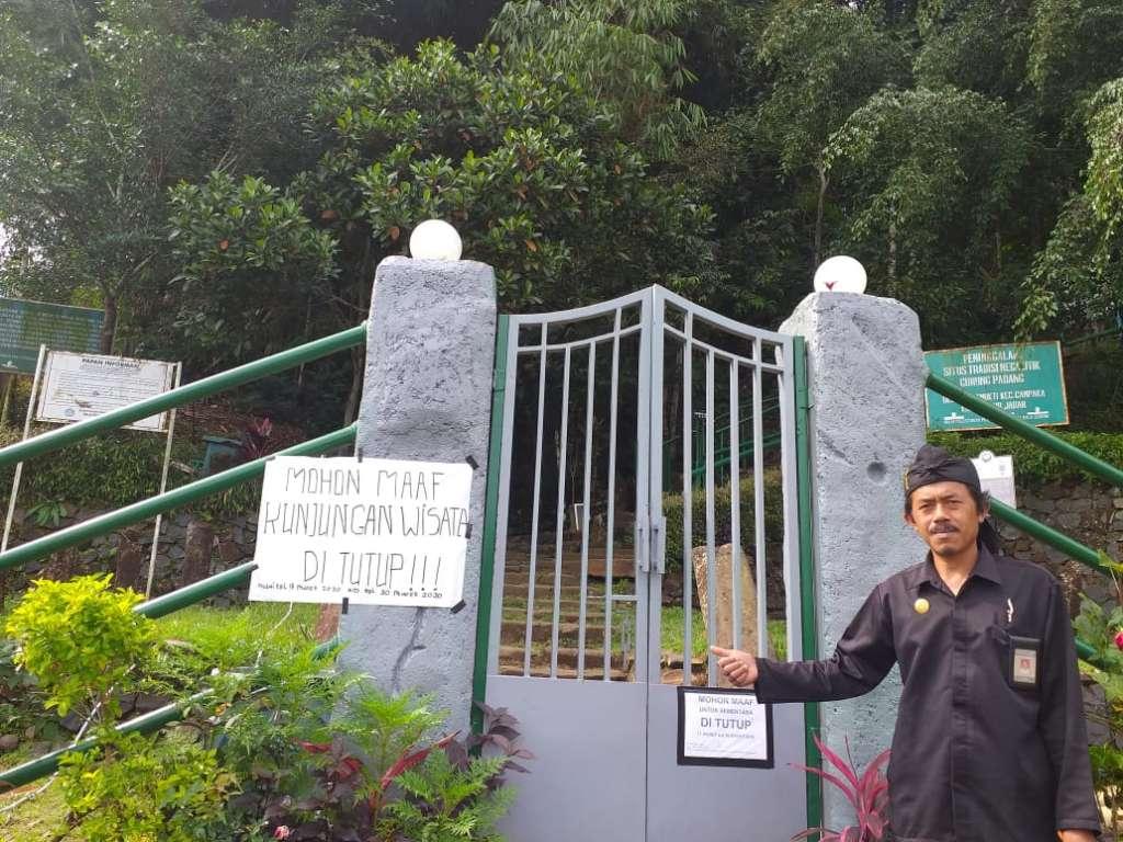 Lokasi Wisata Gunung Padang Ditutup