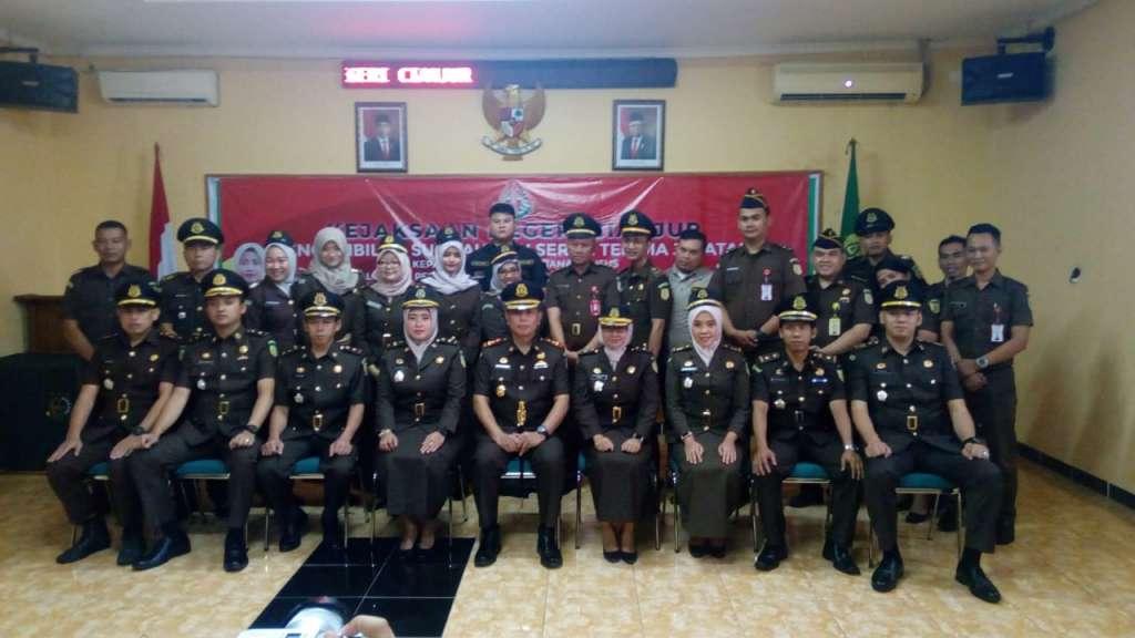 Kejari Cianjur Laksanakan Sertijab Kasi Pidsus dan Kasi BB
