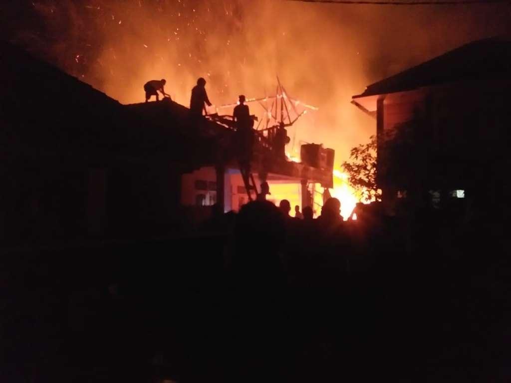 Kebakaran di Tanggeung, Korban dan Ponpes Dapat Bantuan Dari Sosok Ini