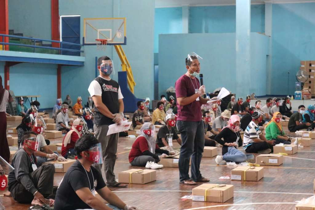 KPU Cianjur Hari Ini Melakukan Penyortiran dan Pelipatan 1,6 Juta Surat Suara