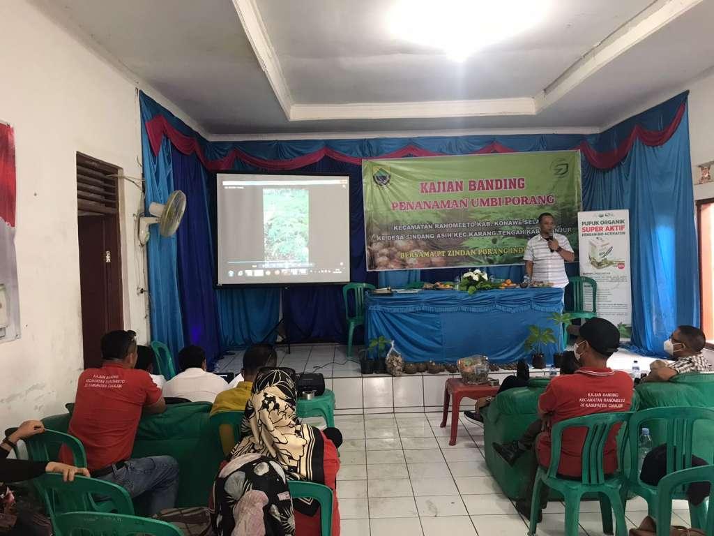 30 Perwakilan Petani Porang Konawe, Lakukan Studi Banding ke Desa Sindangasih