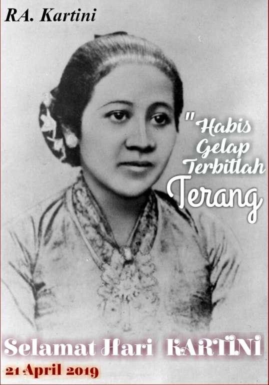 Selamat Hari Kartini, 21 April 2019