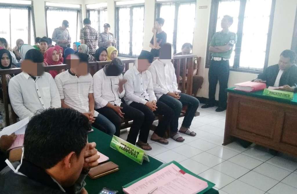 Sidang Perdana Unjuk Rasa Berakhir Tragis Masuki Meja Hijau