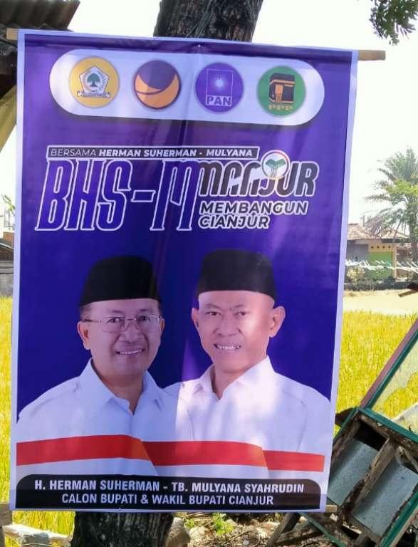 Tak Ada Logo Partai di Banner, BHS-M Dengan Atau Tanpa PDIP?