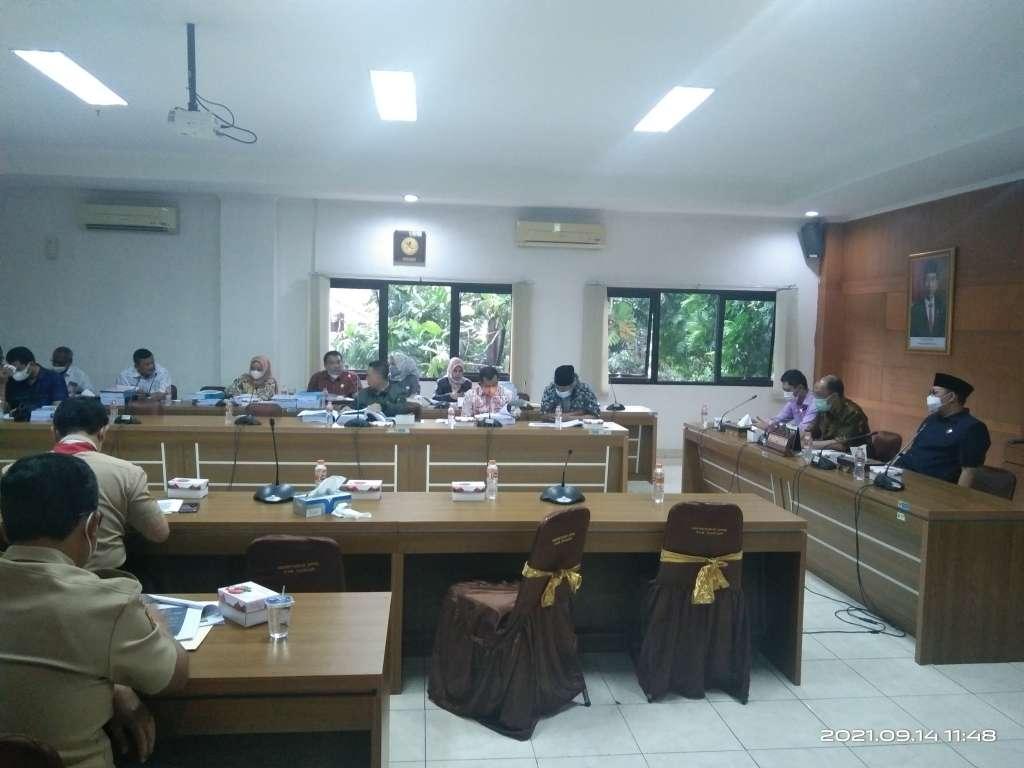 Rapat Pembahasan APBD P 2021 di Skorsing Lagi?