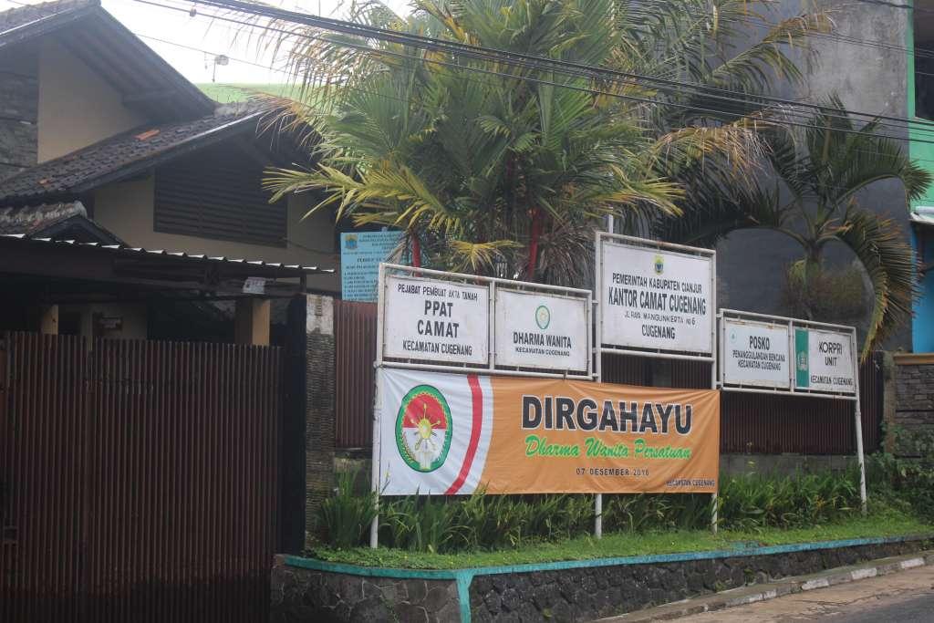 Harga Kantor Baru Kecamatan Cugenang Rp4 M, Pemilik Tanah Untung Besar