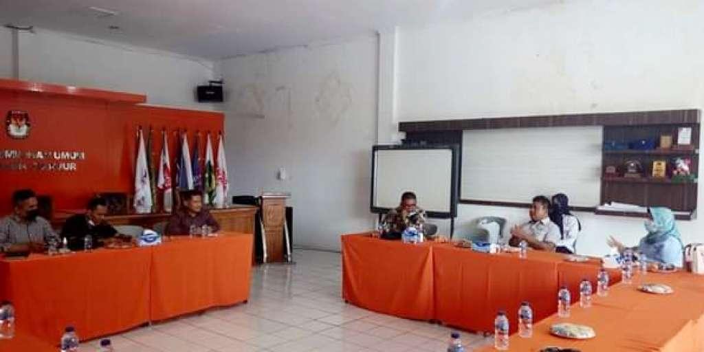 Tiga Anggota DPRD Jabar Datangi KPUD Cianjur