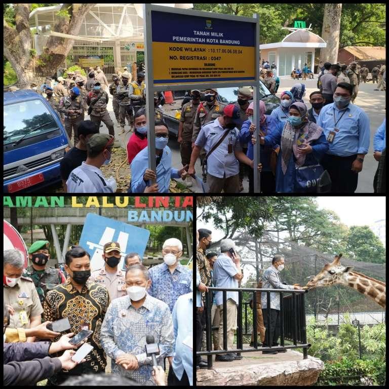 Dorong Pemulihan Aset Pemkot Bandung Rp3,4 Triliun, KPK Kunjungi Aset Bermasalah