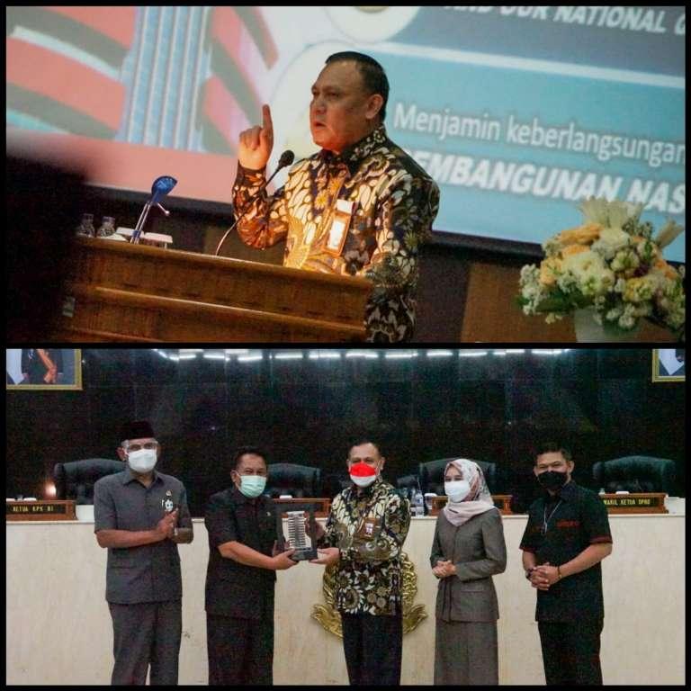 Ketua KPK Ingatkan Legislator Jawa Barat Jangan Korupsi