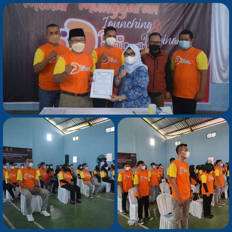 KPU Cianjur Launching Desa Peduli Pemilu dan Pemilihan (DP3)